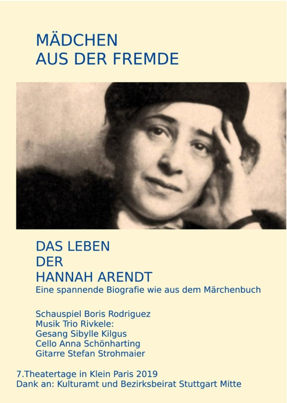 Theater im KHF Hannah Arendt